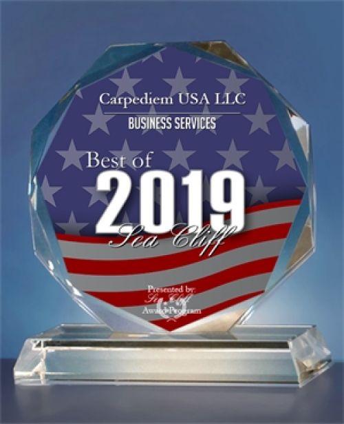 Carpediem USA LLC Received the Sea Cliff Award for Business Services